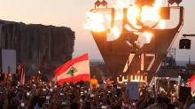 Lebanon's protest flame still flickers on anniversary of 'revolution'