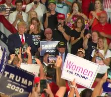 Crowd at Trump rally yells 'Send her back' amid continuing attacks on Democratic congresswomen