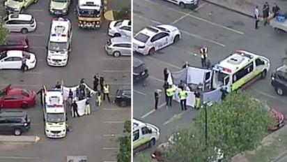 Girl, 3, dies after being hit by ute in car park