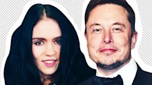 Elon Musk and Grimes Took a Cursed Trip to a Pumpkin Patch with His 5 Sons
