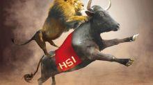 滙控衝80港股十年高