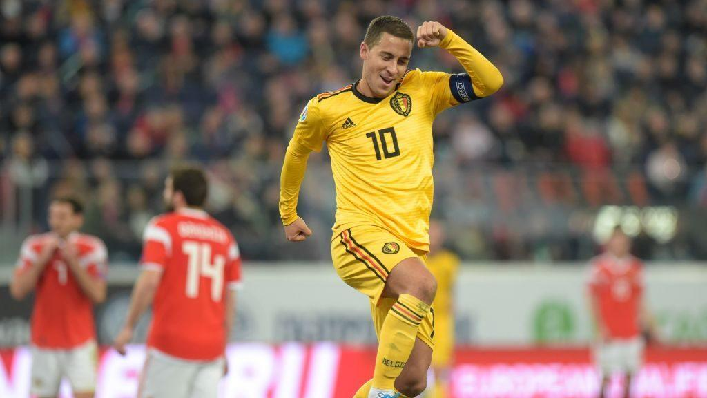 Euro qualifying: Hazard stars for Belgium, Wales grabs big win