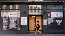 UK high street recovery 'stalled' by lockdown