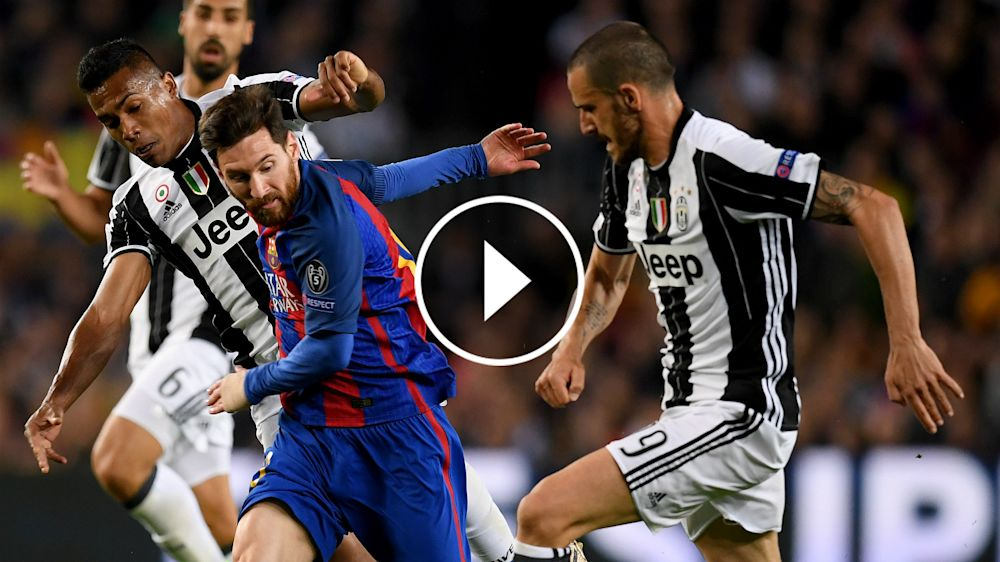 VÍDEO: ¡Chiellini y Bonucci se pegaron por la camiseta de Messi!