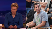 Conan Shares Funny Text Exchange He Had With Adam Sandler