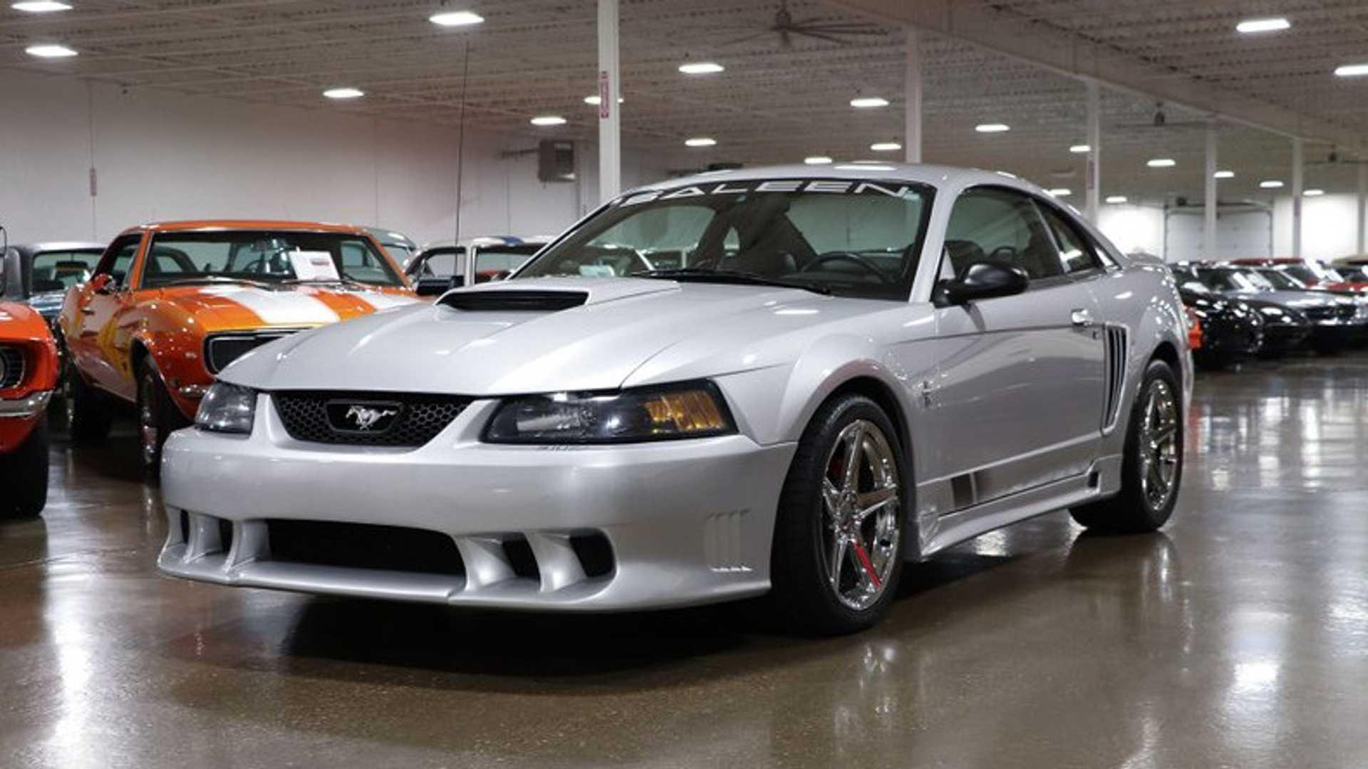 Grab This Low Mileage 2001 Saleen Mustang S 281sc For 23k