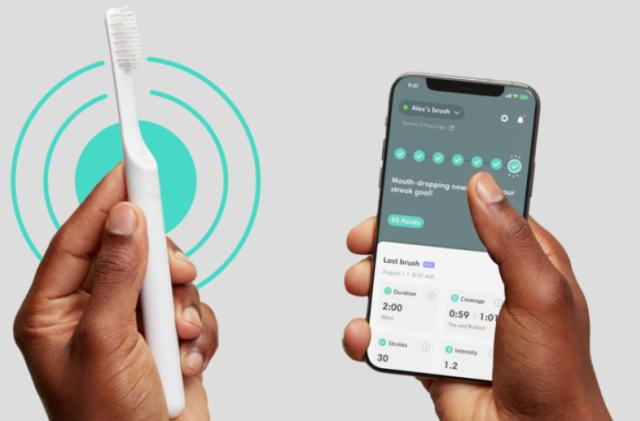 Quip's new Smart Brush and app rewards you for brushing your teeth