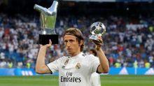 Luka Modric picks his favorite to win the Ballon d'Or