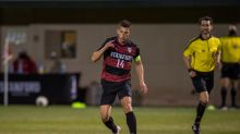 Men's soccer controls play, earns season sweep of San Diego State