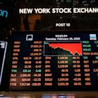 Stock market news live: Stocks erase rebound, dip into the red as coronavirus pandemic fears flare
