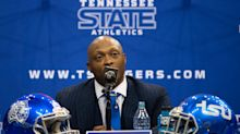 Ohio State great and former NFL star Eddie George is Tennessee State's new football coach