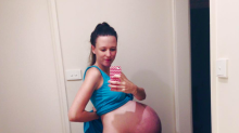 Mum-To-Be's Bumpie Goes Viral For All The Wrong Reasons