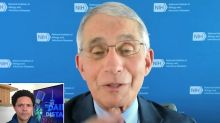 Anthony Fauci Shows Exactly When And How To Wear A Face Mask, And When You Don't Need It