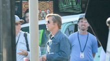 Brad Pitt and Leonardo DiCaprio Are the Kings of '60s Cool on the Set of Their Manson Murder Movie