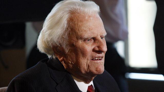 Rev. Billy Graham launches crusade video on 95th birthday