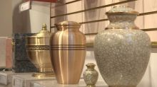Some unclaimed cremated remains are still at funeral homes 40 years later