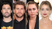 Brody Jenner Jokes About 'Holding Hands' with Liam Hemsworth After Kaitlynn Carter Kisses Miley Cyrus