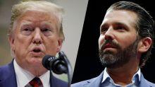 Trump says Senate subpoena of Donald Jr. left him 'very surprised'