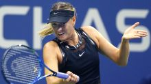 Maria Sharapova upsets Simona Halep in first Grand Slam match since suspension