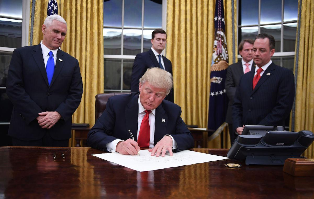 president trumps administration changes to regulations on the environment Thomson reuters president donald trump's latest executive order will force government agencies to kill two regulations for every one they create — literally the order, as listed on whitehouse.