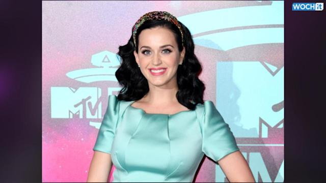 Katy Perry Bleached Her Eyebrows