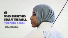 Muslim Olympic fencer Ibtihaj Muhammad was once kicked out of a fabric store because of her hijab