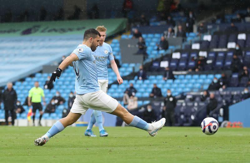 Soccer-Aguero close to joining Barcelona next season: City's Guardiola