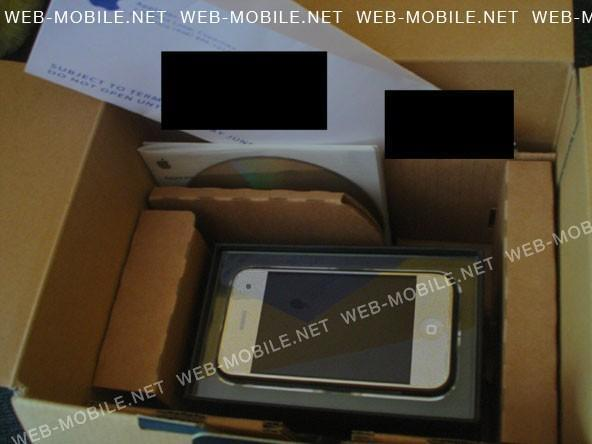 The 3G iPhone not unboxed