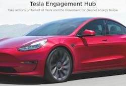 Tesla ditches forums and pushes fans to take political action with Engage