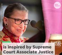 Ruth Bader Ginsburg beer? Guilty, says Sam Adams, giving new meaning to 'bar exam'