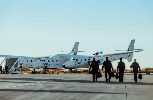 Virgin Galactic plans next rocket-powered test flight for February 13th