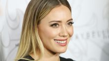 Hilary Duff wore a corset blazer, and we had no idea this was a trend
