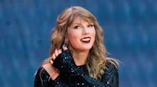Taylor Swift Continues Political Streak With a Pedicure