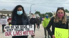 One hundred people attend Black Lives Matter rally in Hay River