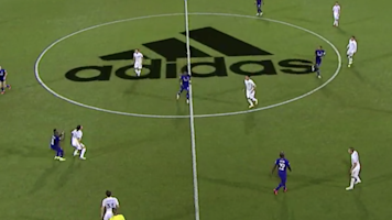 People did not like the logo on the MLS field