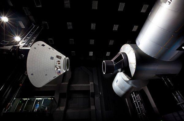 Lockheed Martin shows off Orion spacecraft, new secret lair