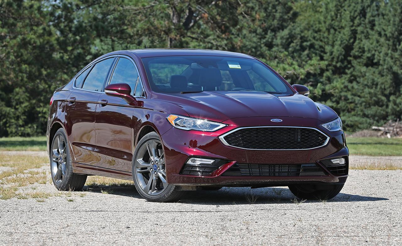 2017 ford fusion sport with performance tires. Black Bedroom Furniture Sets. Home Design Ideas