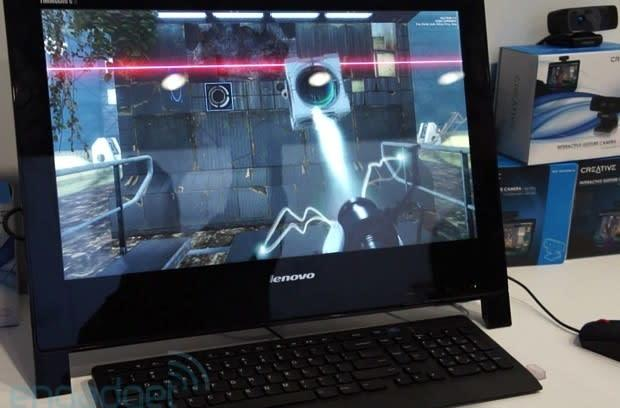 Intel's Perceptual Computing demonstrations hands-on (video)