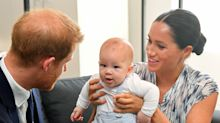 Harry and Meghan share new image of Archie as they encourage vaccine donations for his second birthday
