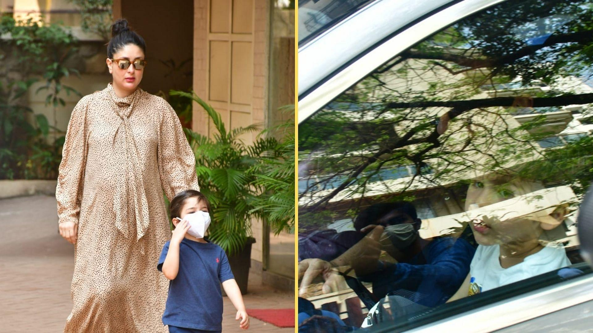 Watch: Kareena Discharged From Hospital, Back Home With Her Baby