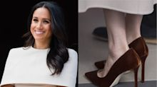 Why the Duchess of Sussex always wears shoes that are too big for her