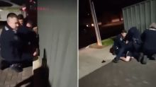 'GET OFF HIS HEAD': Distressing video of Indigenous man's arrest