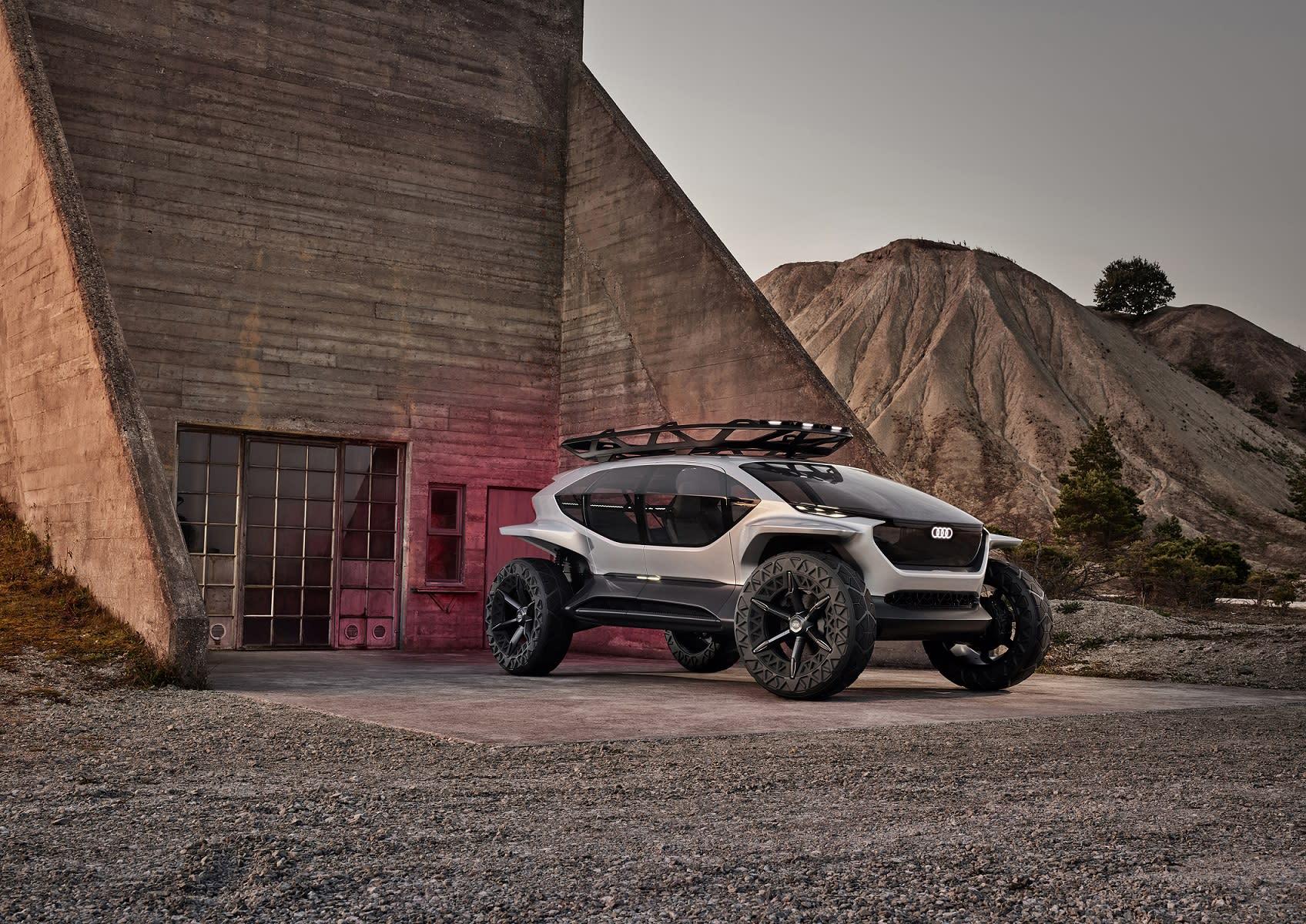 The Audi AI:TRAIL quattro