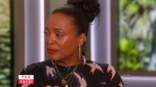 Aisha Tyler bids an emotional farewell to 'The Talk'