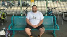 Man who fills spare time by visiting and rating the UK's public benches is yet to find a 10/10