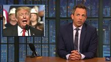 Seth Meyers Dunks NYT For Calling Trump's Rant 'Racially Infused' Like A 'Fancy Drink'