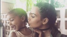 Kim Kardashian Shows Off Daughter North West's New Puppy -- See the Snaps!