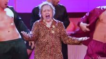 Kathy Bates channeling Bruno Mars is exactly what we need right now