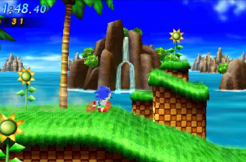 Sonic Generations dashes to 3DS November 22