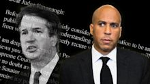 Booker asks Kavanaugh to promise to recuse himself from cases involving Trump if he makes it to the Supreme Court